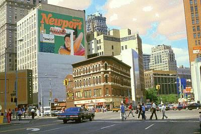 Detroit Michigan 84 - Watercolor Poster