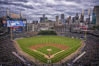 Detroit Tigers Comerica Park 4837 Poster