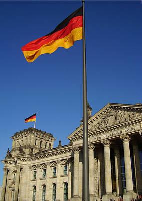 Deutscher Bundestag Poster by Flavia Westerwelle