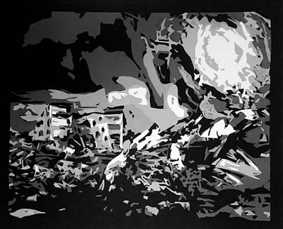 Devastation Poster by Jena Maki