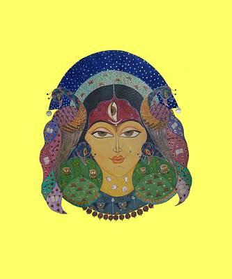 Devi Tee Poster by Vidya Vivek