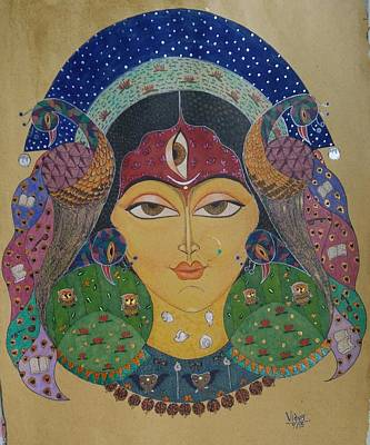 Devi Poster by Vidya Vivek