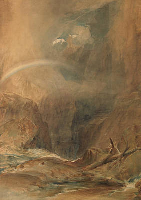 Devil's Bridge Saint Gotthard's Pass Poster by Joseph Mallord William Turner