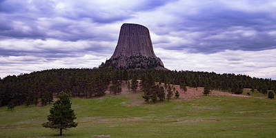 Poster featuring the photograph Devil's Tower 2 by Gary Lengyel