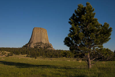 Poster featuring the photograph Devil's Tower by Gary Lengyel