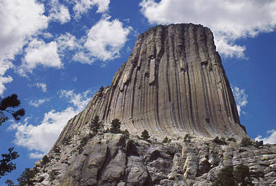 Devils Tower National Monument - Wyoming Poster by Mike McGlothlen