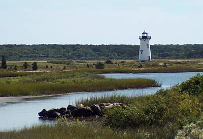 Edgartown Harbor Lighthouse Poster