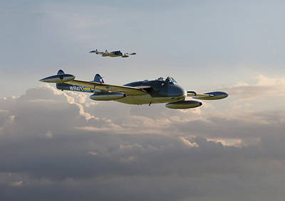 Poster featuring the photograph  Dh112 - Venom by Pat Speirs