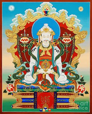 Dharmaraja Trisong Detsen Poster