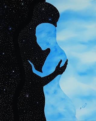 Dia Y Noche Poster by Edwin Alverio