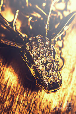 Diamond Encrusted Wildlife Bracelet Poster by Jorgo Photography - Wall Art Gallery