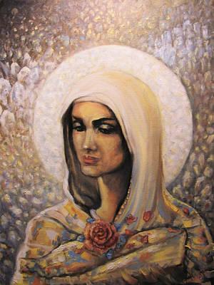 Diamond Maria Poster by Aleksei Gorbenko
