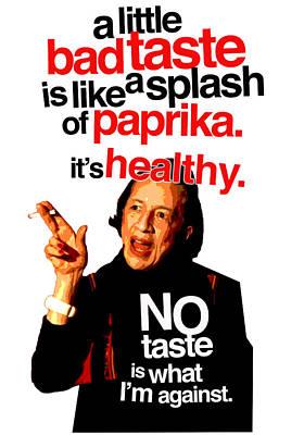 Diana Vreeland On Taste Poster by Douglas Simonson