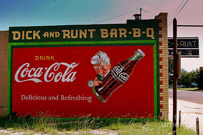 Dick And Runt Bbq Poster