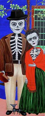Diego Y Frida Poster by Evangelina Portillo
