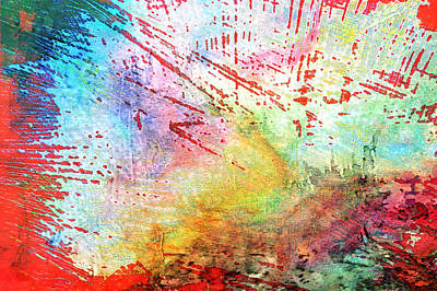 Digital Abstract Poster