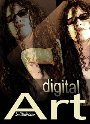 Digital Art Poster Poster