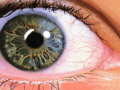 Digital Eye Poster