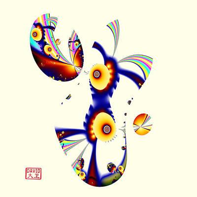 Digital Picasso - David Poster