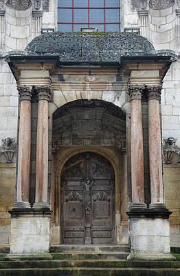 Dijon Doorway Poster by Carla Parris