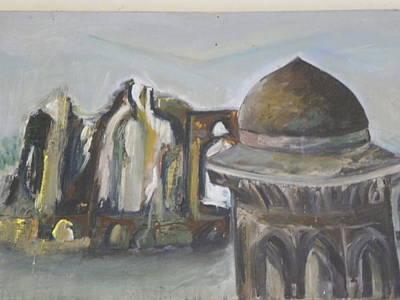 Dilapidated Castle Poster by Rajendra Yadev