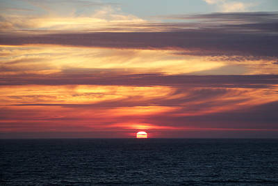 Dillon Beach Sunset Poster by Sierra Vance
