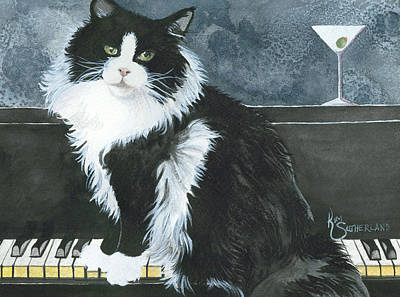 Dino Martini Poster by Kim Whitton