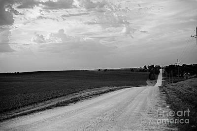Poster featuring the photograph Dirt Road by Sandy Adams