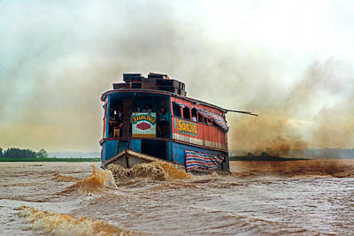 Dirty Amazon River Boat Poster