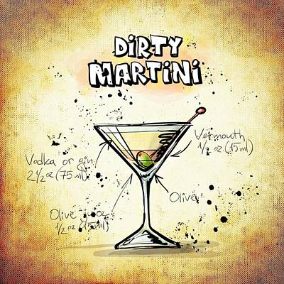 Dirty Martini  Poster by Movie Poster Prints