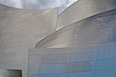 Poster featuring the photograph Disney Concert Hall by Kim Wilson
