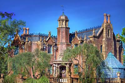 Disney World Haunted Mansion  Poster