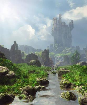 Distant Castle Poster