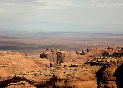Poster featuring the photograph Distant Mesa by Fred Wilson