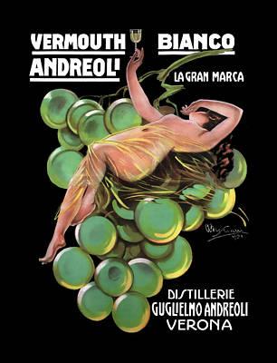 Distillerie Guglielmo Andreoli Verona  C. 1920 Poster