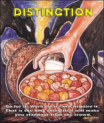 Distinction Poster by Mbonu Emerem