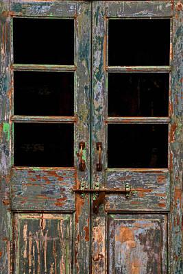 Distressed Doors Poster
