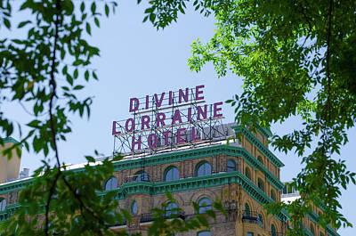 Divine Lorraine Hotel Restored - Philadelphia Poster by Bill Cannon