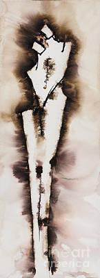 Divine Love Series No. 2042 Poster by Ilisa Millermoon