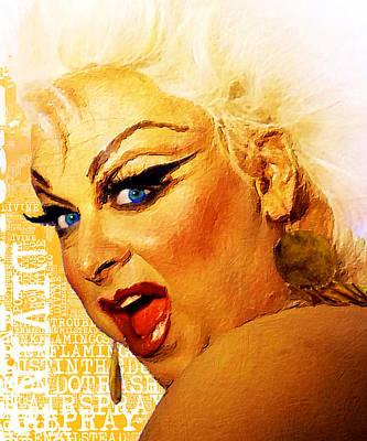 Divine Poster by Tony Rubino