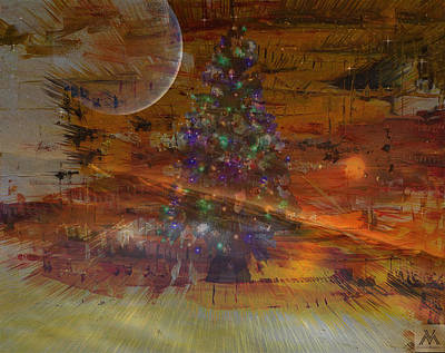 'divine Universal Christmastree Poster by Vincent Messelier