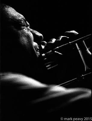 Dixieland Trombone New Orleans Poster