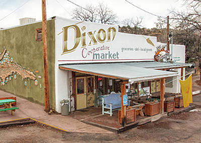 Poster featuring the photograph Dixon Market, New Mexico by Britt Runyon