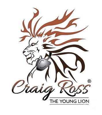 Dj Craig Ross Logo Poster