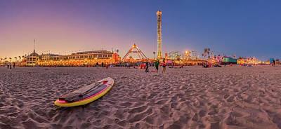 Do We Have To Go Home - Santa Cruz Beach Poster
