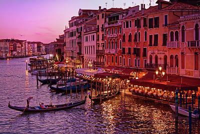 Magical, Venetian Blue Hour Poster