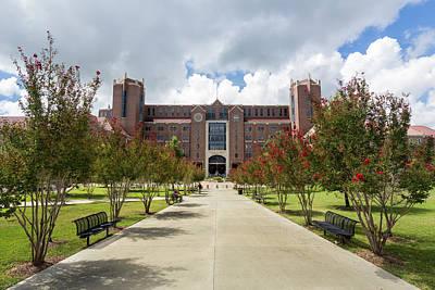 Doak S. Campbell Stadium At Florida State University Poster