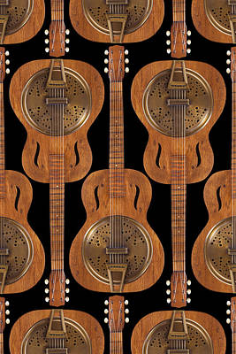 Dobro 4 Poster by Mike McGlothlen