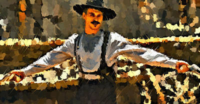 Doc Holiday Tombstone Poster by Kreyton