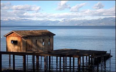 Dock Of Dreams South Lake Tahoe Ca Poster by Brad Scott